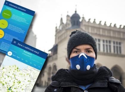 Powstała aplikacja, która na bieżąco informuje o jakości polskiego powietrza