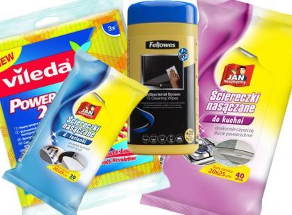 Poznaj 22 ściereczki do błyskawicznego sprzątania