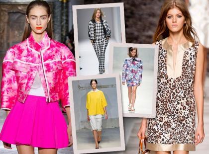 Poznaj 5 najważniejszych trendów wiosny i lata 2014