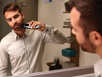 Poznaj pierwszy na świecie trymer do brody z prowadnicą laserową!