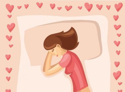 Pozycje kobiet podczas snu