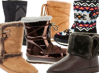 Praktyczne buty na zimę już od 49zł