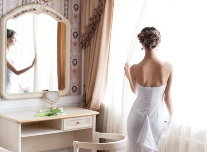 Prawdziwie kobiecy pokój w stylu buduarowym
