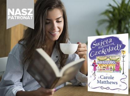 """Premiera książki """"Święta miłośniczek czekolady"""" Carole Matthews"""