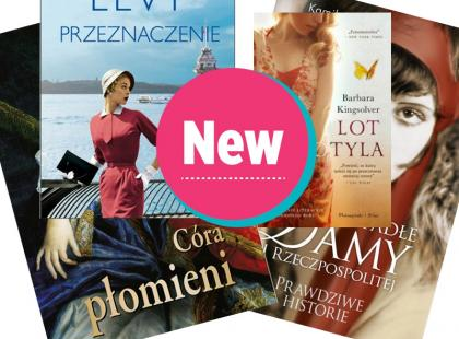 Premiery książkowe - 4 kobiece propozycje