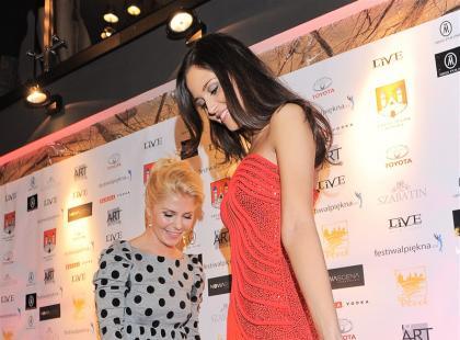 Prezentacja sukni galowej Miss Polski