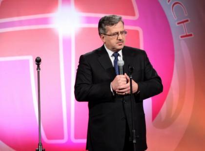 Prezydent Komorowski na bakier z ortografią