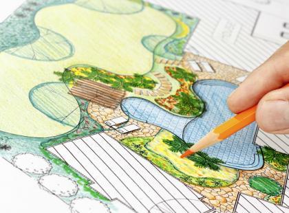 Projekt ogrodu - jak zaplanować ładny zielony zakątek wokół domu