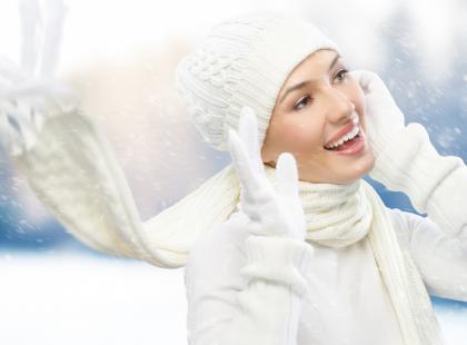 Promienna skóra także zimą