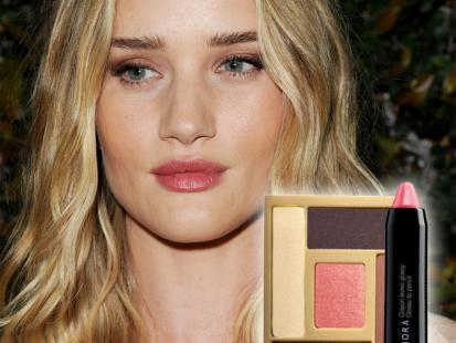 Promienny makijaż w stylu top modelki