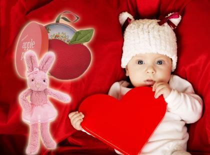 Propozycje prezentów walentynkowych dla maluchów!