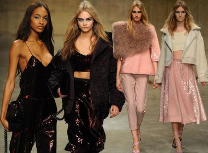 Prosto z London Fashion Week: pokaz Topshop na jesień 2013