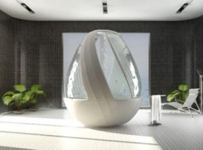 Prysznic w jajku – Roca Cocon Shower Stall