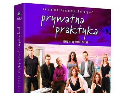 """""""Prywatna praktyka"""" - sezon trzeci na DVD"""