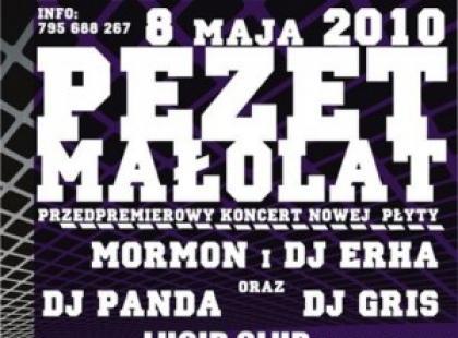 Przedpremierowy koncert z nadchodzącej płyty PEZET/MAŁOLAT