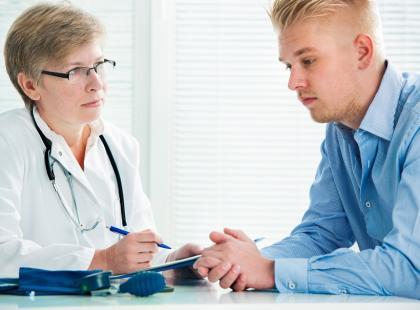 Przedwczesny wytrysk – jak wygląda wizyta u lekarza?