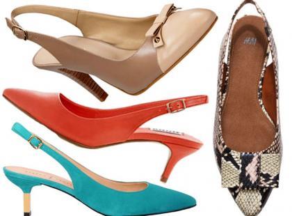 Przegląd butów z otwartą piętą na tegoroczne lato