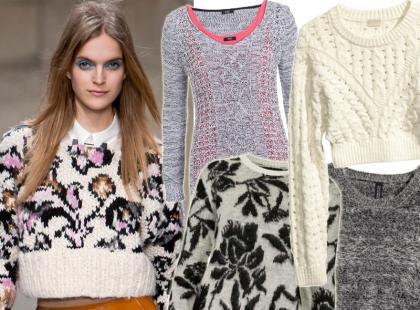 Przegląd ciepłych swetrów na zimowe dni