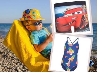Przegląd dziecięcych strojów plażowych. Ceny już od 18 zł!