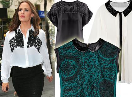 Przegląd eleganckich bluzek na jesień 2012