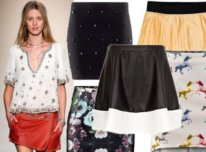 Przegląd krótkich spódniczek na wiosnę 2013