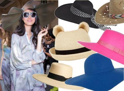 Przegląd letnich kapeluszy z modnych sieciówek