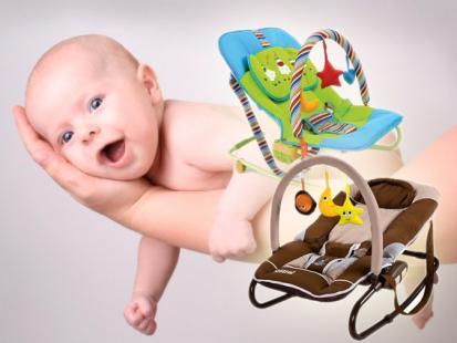 Przegląd leżaczków dla dziecka