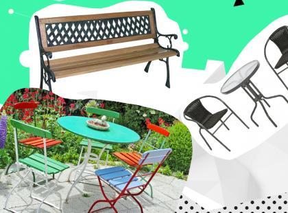 Przegląd mebli ogrodowych: 16 modeli z popularnych sklepów