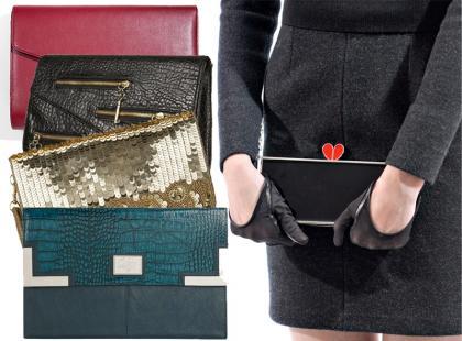 Przegląd modnych kopertówek z zimowych kolekcji