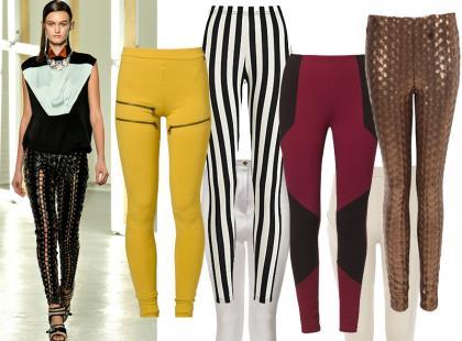 Przegląd modnych legginsów na wiosnę