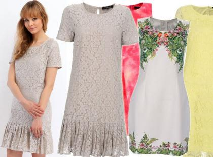 Przegląd modnych sukienek na wiosnę z polskiej sieciówki