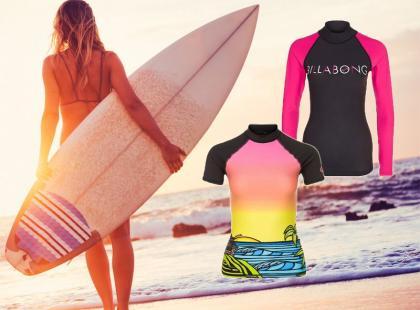 Przegląd najmodniejszych koszulek do surfowania