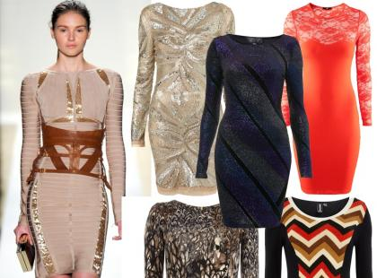 Przegląd obcisłych sukienek typu bodycon