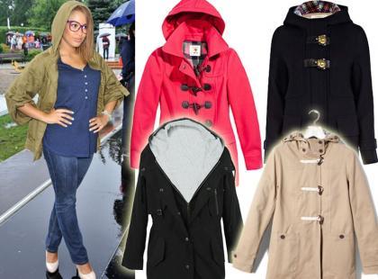 Przegląd płaszczy i kurtek z kapturem z polskich sklepów