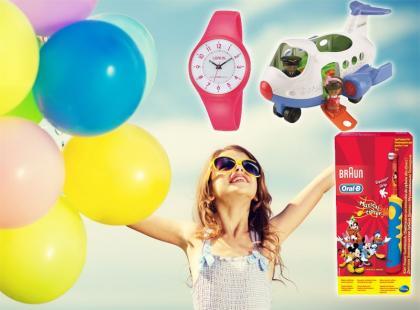Przegląd prezentów na Dzień Dziecka 2014: ceny już od 20 zł!
