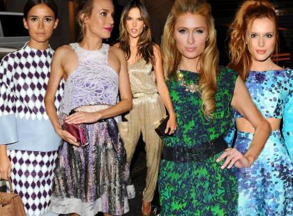 Przegląd stylizacji gwiazd z New York Fashion Week
