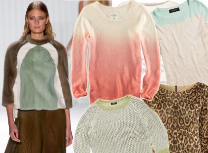 Przegląd wiosennych sweterków. Ceny od 59 złotych!