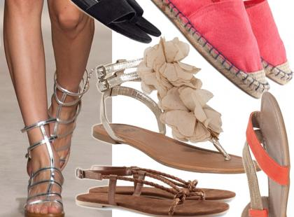 Przegląd wygodnych butów na lato 2013. Ceny od 34 złotych!