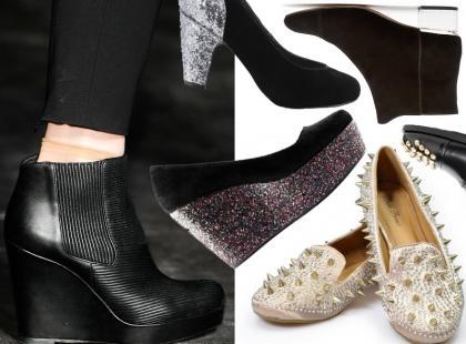 Przegląd wygodnych butów na Sylwestra 2013