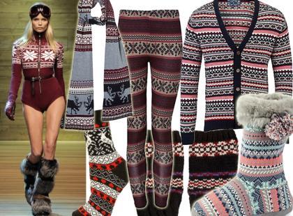 Przegląd wzorzystych ubrań i dodatków w stylu skandynawskim