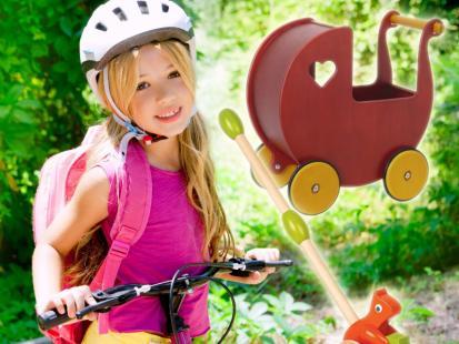 Przegląd zabawek na kółkach dla dzieci!