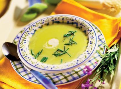 Przepis Ani Starmach: zupa z cukinii