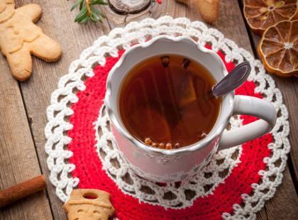 Przepis Beaty Pawlikowskiej: świąteczna herbata