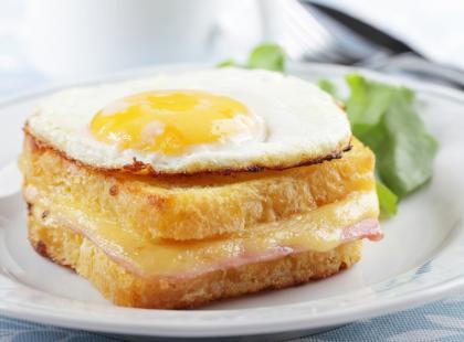 Przepis na francuskie śniadanie