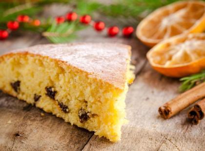 Przepis na hiszpańskie pomarańczowe ciasto bożonarodzeniowe
