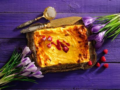 Przepisy na sernik: sernik z brzoskwiniami, sernik wiedeński i 79 innych!