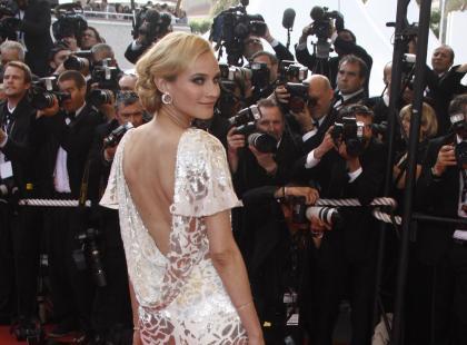Prześliczne sukienki Diany Kruger!