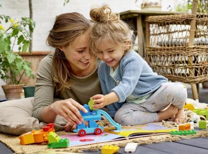 Przetestuj 1 ze 100 zestawów klocków LEGO® DUPLO®!