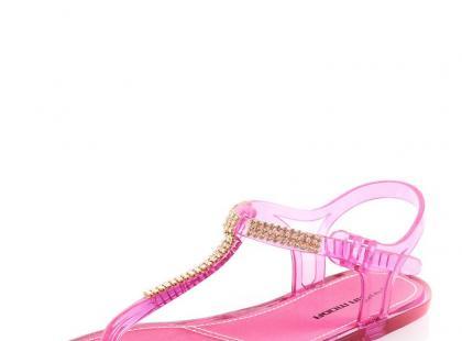 Przezroczyste sandały Prima Moda