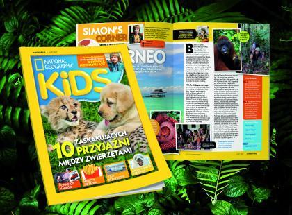Przeżyj niesamowitą przygodę z National Geographic Kids!